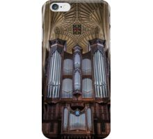 The Bath Abbey's Organ iPhone Case/Skin