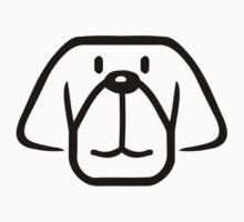 Dog face Baby Tee