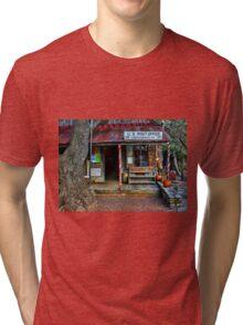 Luckenbach TX Tri-blend T-Shirt