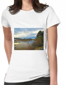 "Sunrise at ""The Bend"" on Hull Creek Womens Fitted T-Shirt"