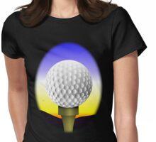 Golf Ball Womens Fitted T-Shirt