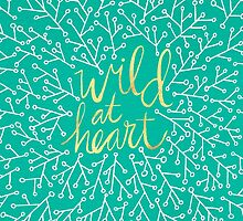 Wild at Heart – Turquoise by Cat Coquillette