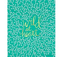 Wild at Heart – Turquoise Photographic Print
