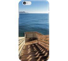 Steps Down To The Sea iPhone Case/Skin