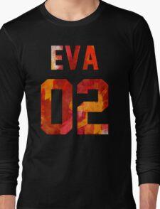 EVA-02 (Neon Genesis Evangelion) Long Sleeve T-Shirt
