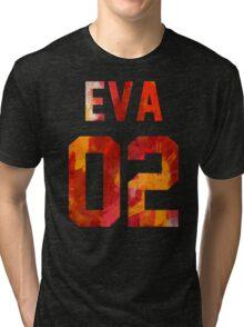 EVA-02 (Neon Genesis Evangelion) Tri-blend T-Shirt