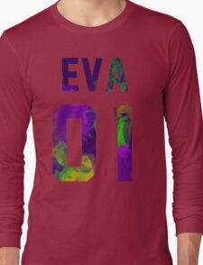 EVA-01 (Neon Genesis Evangelion) Long Sleeve T-Shirt