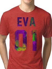 EVA-01 (Neon Genesis Evangelion) Tri-blend T-Shirt