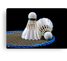 Badminton Canvas Print