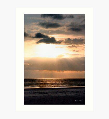 God Speaking Art Print