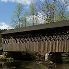 Covered Bridge by Henri Irizarri