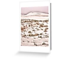Scrub Brush Greeting Card