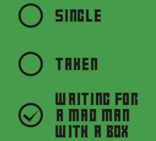 Mad Man with a Box - Dark One Piece - Short Sleeve
