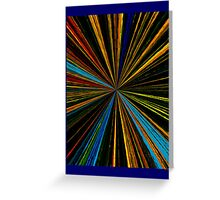 ABSTRACT 13 Greeting Card