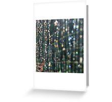 Nature's Matrix Greeting Card