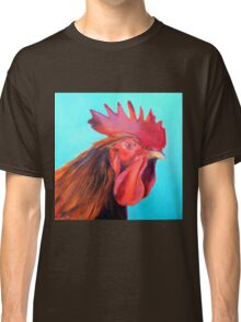Reagan the Rooster, from original oil painting by Madeleine Kelly Classic T-Shirt