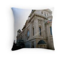 Basilica of Saint Mary Throw Pillow