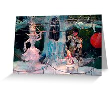 Window Dressing Two Greeting Card