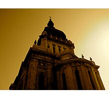 At the Top. Basilica of Saint Mary Photographic Print