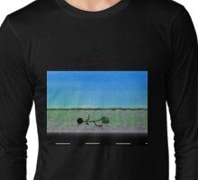stick-man slipped tee Long Sleeve T-Shirt