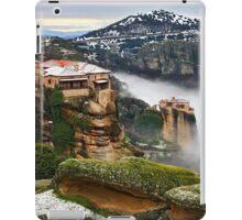 Varlaam & Roussanou monasteries - Meteora iPad Case/Skin