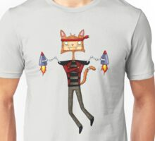 Rocket Cat Unisex T-Shirt