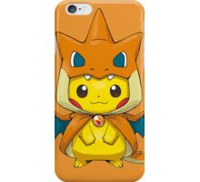 Mega Charizard Pikachu iPhone Case/Skin