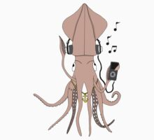 Squid Rapper by Michowl
