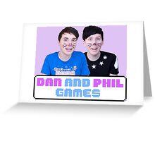Dan and Phil Games Greeting Card