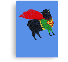 Superhero  Sheep Canvas Print