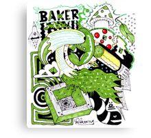 The Baker Returns Canvas Print