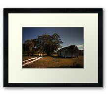 The All American Home Framed Print