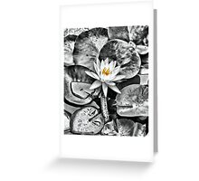 Molten Glory Greeting Card