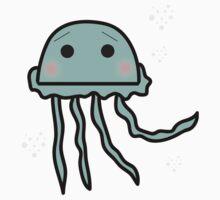 Shy Jelly Fish One Piece - Short Sleeve