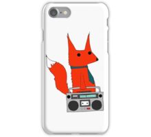 music fox iPhone Case/Skin