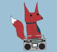 music fox Kids Tee