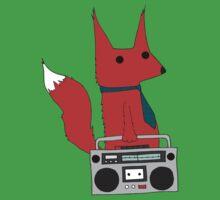 music fox Kids Tee