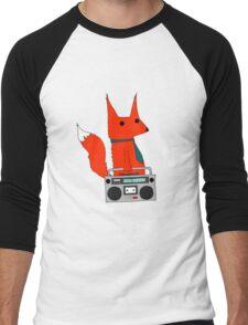 music fox Men's Baseball ¾ T-Shirt