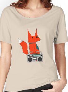 music fox Women's Relaxed Fit T-Shirt