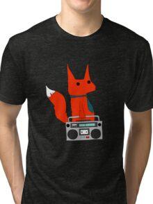 music fox Tri-blend T-Shirt