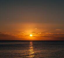 Seascape Sunset by Matthew Hollinshead