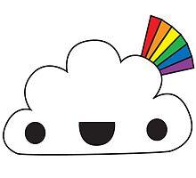 Happy Rainbow Attack by meowkapow
