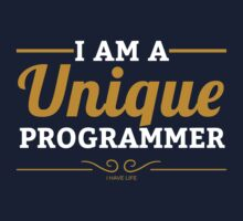 programmer : i am a unique programmer Kids Tee