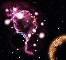 Big pink nebula 2 by AnnArtshock