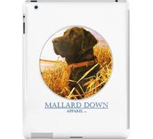 Mallard Down - Saw Grass Black Lab iPad Case/Skin