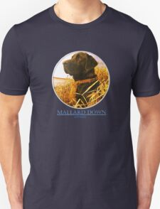 Mallard Down - Saw Grass Black Lab Unisex T-Shirt