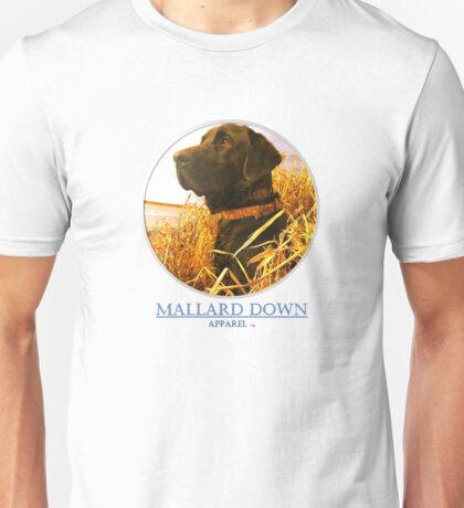 Mallard Down - Saw Grass Black Lab Unisex T-Shirt
