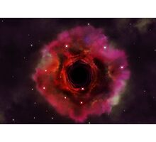 Black hole in the space Photographic Print