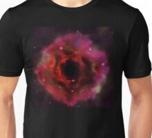 Black hole in the space Unisex T-Shirt