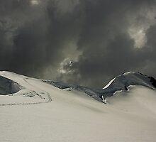 Mount French, Mt Aspiring National Park, New Zealand by Hugh Chaffey-Millar